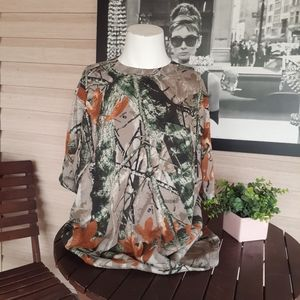 Outfitters Ridge Camo Hunting Pocket Short Sleeve